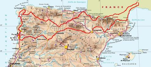 Track & Road     Voyage à moto en Espagne et au Portugal