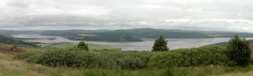 Panoramique de Dornoch Firth