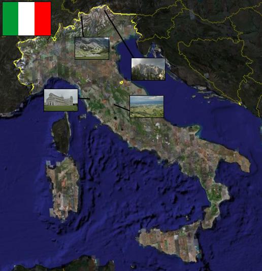 carte radars italie